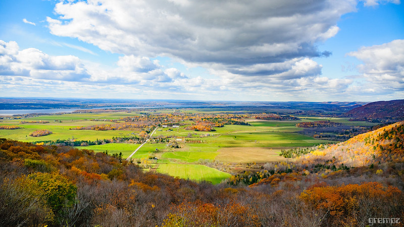 champlain valley from hill