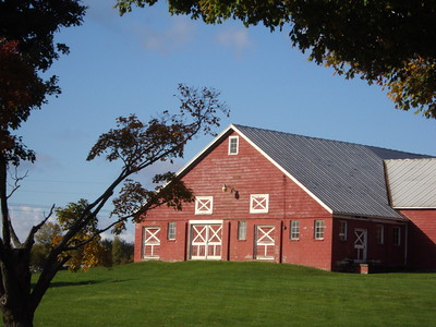 Red Barn in South Hero VT